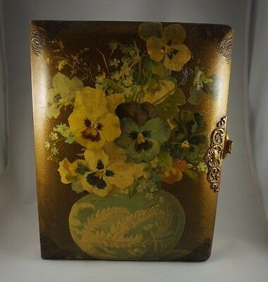 Antique Photo Album Cabinet Card Late 1800's Early 1900's 50+ Photos Included