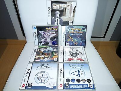 Juegos Nintendo Ds Nds Lite Pokemon Perla Hotel Dusk Brain Training Completos