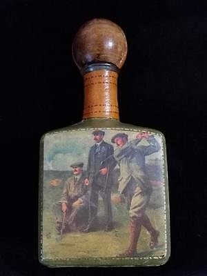 Leather Liquor Decanter Made in Italy
