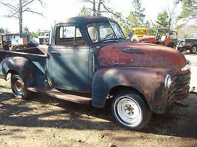 1953 Chevrolet Other Pickups  1953 Chevy 1/2 ton 5 window pickup