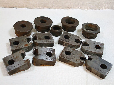 Armstrong Pipe Threader's Dies 4 sets plus Guides(?)