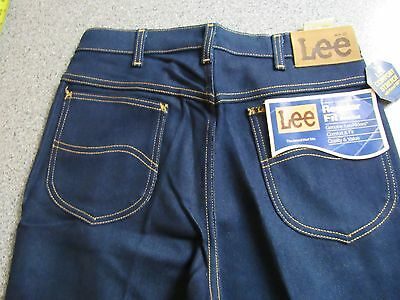Nwt Vintage Mens Lee Riders Comfort Stretch Regular Fit Boot Cut Jeans 33X36