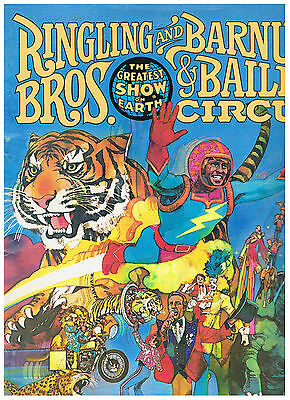 1978 RINGLING BROS BARNUM & BAILEY 84 page PROGRAMME & BOOK