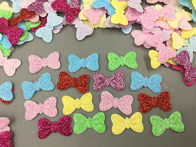 200x pcs loose mixed colors star//flower//butterfly//snowflakes SEQUIN TRIM U pick