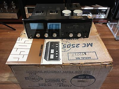 Vintage Mcintosh Mc2505 Stereo Solid State Amplifier W/orig Box/manual