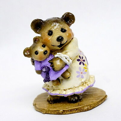 Wee Forest Folk NATIME WITH DOLLY, Fairytales Spcl Color, Only 75 made, retired