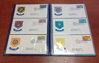 1973 British Virgin Islands First Official Proof Coin Set w/ First Day Covers