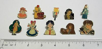 Card Captor Sakura pin lot #4 Kero Clow Reed Tomoyo Eriol anime badge Furuta