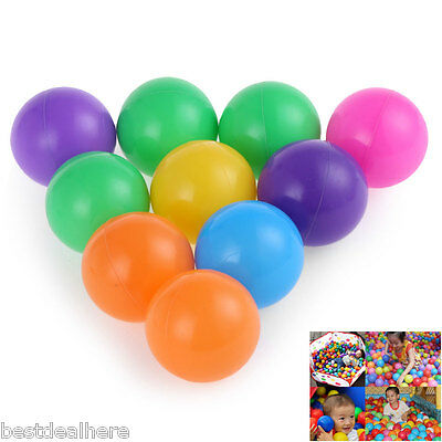 100pcs Baby Colorful Water Pool Ocean Wave Ball Outdoor Sports Toy 5.5CM