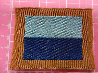 WW 1 13th Battalion A.I.F. colour patch, ORIGINAL