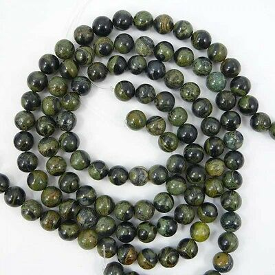 Natural Kambaba Jasper Round Gemstone Beads 6mm-- 16""
