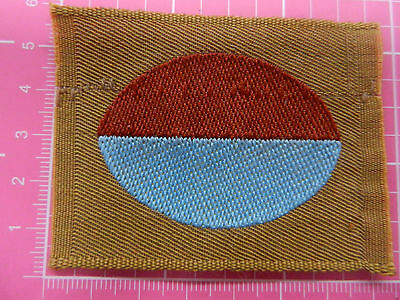 WW 1 43rd Battalion A.I.F. colour patch, ORIGINAL