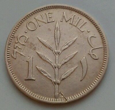 Palestine 1 Mil 1939. KM#1. One cent coin. British Administration.