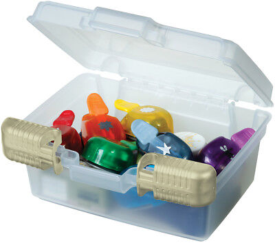 """ArtBin Quick View Deep Base Carrying Case 7.5""""X3.5""""X6.5"""" Translucent 6971AB"""