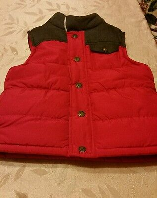 Carter's Vest for boy. Size 4T. Red and black color.  Excellent condition.