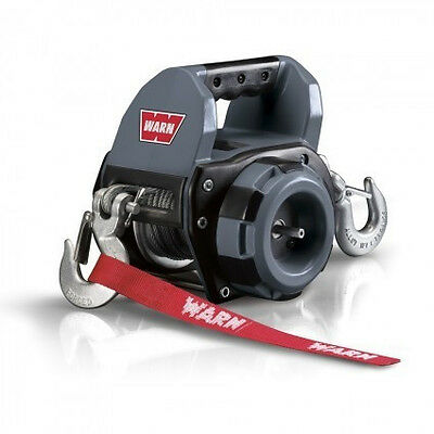 NEW Warn drill powered portable winch 9m wire rope, 910500
