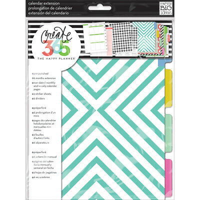 Create 365 Happy Planner Extension Pack MONT-01