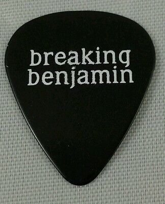 Breaking Benjamin Black Guitar Pick