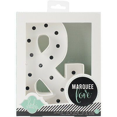 """Heidi Swapp Marquee Love Letters, Numbers & Shapes 8.5"""" Ampersand HSMAR-9106"""