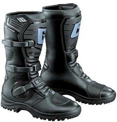 GAERNE G Adventure Black Motorcycle Boots ALL SIZES