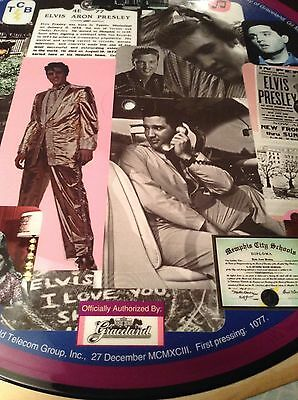 """one Of A Kind!""  Elvis  Presley Vinyl For  Elvis Fans/collectors"