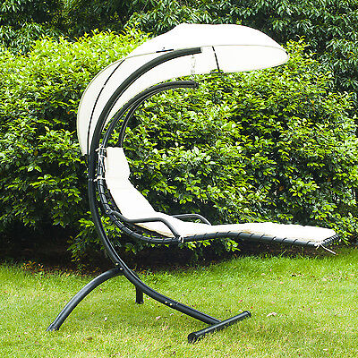 Outsunny Outdoor Patio Porch Hanging Sky Swing Chair dream chair lounger hammock