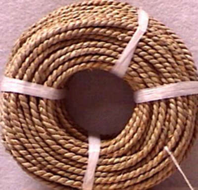 Basketry Sea Grass #3 4.5mmX5mm 1lb Coil Approximately 210' SEA3X1