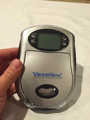 BARELY USED Video Now Personal Video player Silver Color 2003 TESTED