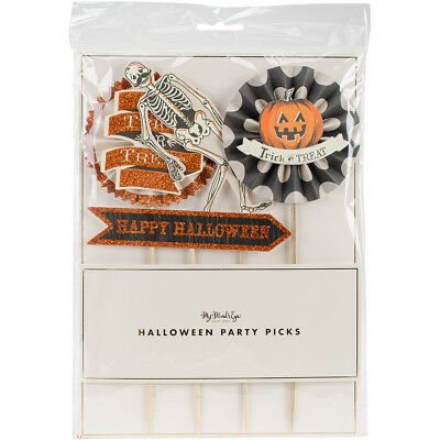 "Halloween Party Picks 4/Pkg 6"" 10"" High HWP109"
