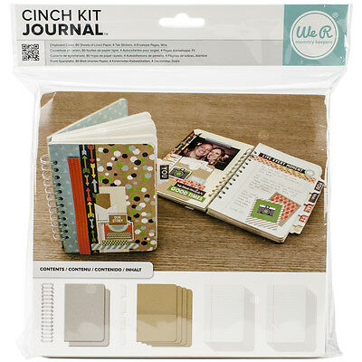 """Cinch Journal Kit 8""""X9"""" Covers, Pages & Wire 62363"""