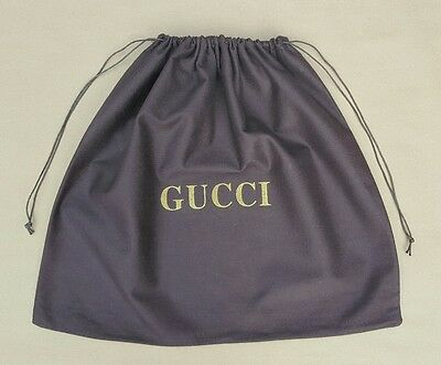 Authentic Gucci Large Brown Dust Bag / Sleeper / Protective Cover 54.5 x 48.5cm
