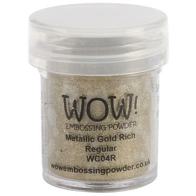 WOW! Embossing Powder 15ml Gold Rich WOW-WC04R