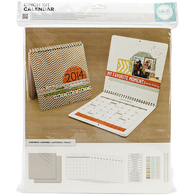 """Cinch Calendar Kit 12.5""""X13.25"""" Covers, Pages & Wire 62360"""