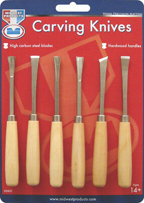 Carving Knife Set 6pcs 3802
