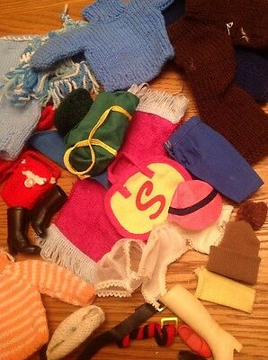 Job Lot Of Sindy Accessories And Clothes Shoes Belts Hats