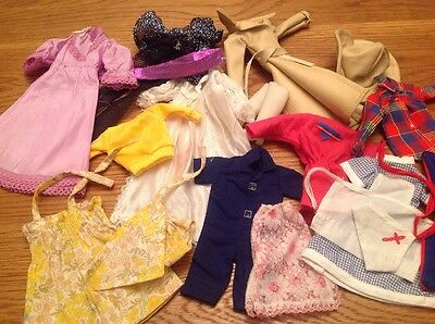 Vintage Lot Of Sindy Clothes Outfits