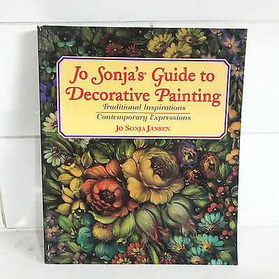 Jo Sonja's GUIDE TO DECORATIVE PAINTING Book - Art Artist How to Paint RRP $70