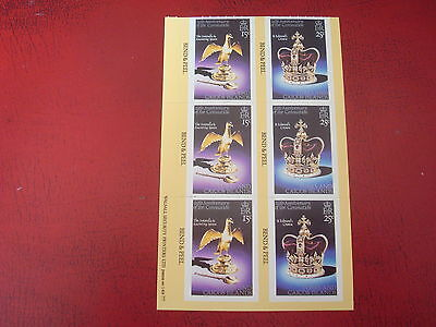Turks & Caicos - 1977 Jubilee - Bend & Peel Sheet - Ex Condition