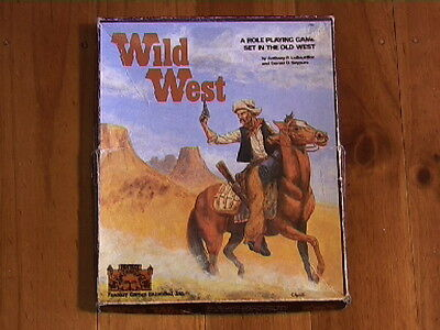 WILD WEST (Boxed) by FANTASY GAMES UNLIMTED, vintage from 1981