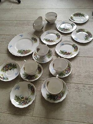 Royal Vale Bone China Tea Set English Afternoon Tea Party Mothers Day