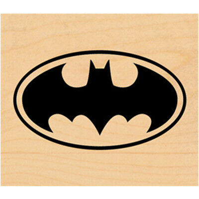 DC Comic Rubber Stamp Batman Logo DC0003