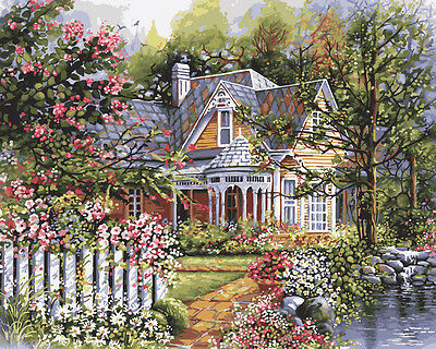 "Paint By Number Kit 16""X20"" Victorian Garden 216-76"