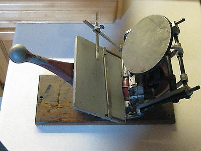 "Vintage ADANA ""Five-Three"" Printing Press MADE IN ENGLAND"