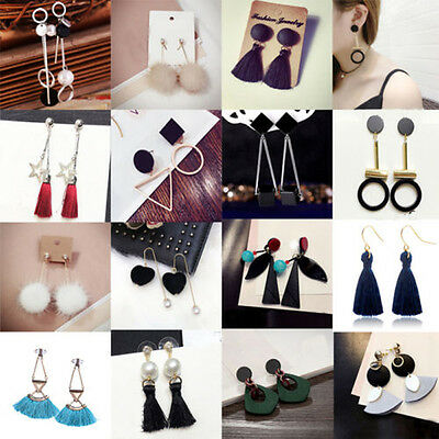 Fashion Women Pendant Long Dangle Drop Earrings Hook Ear Stud Jewelry Gifts