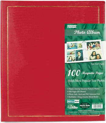 "Pioneer Magnetic Page Photo Album 10""X11.5"" 100 Pages LM100"