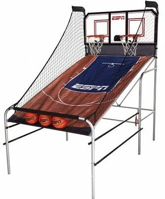 ESPN 2-Player Basketball Game With Authentic PC Backboard
