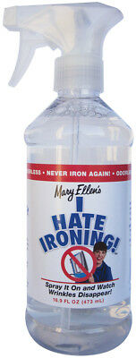 Mary Ellen's I Hate Ironing! Spray Wrinkle Remover 16oz  60036