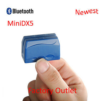 MINI DX Bluetooth Portable Magstripe Credit Card Reader Work With IOS/Android