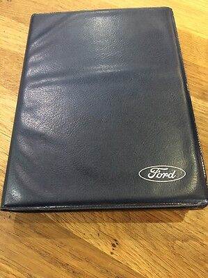 Ford Transit Owners Handbook & Audio Manual With Plastic Wallet