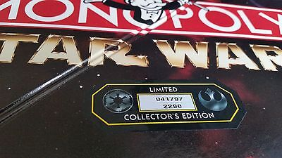 1996 Limited Edition Star Wars Monopoly - Great Collector Item